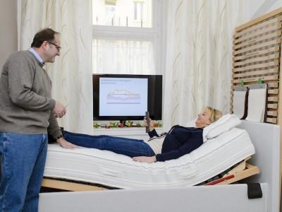 Schlafberatung für Betten, Matratzen und Lattenroste München